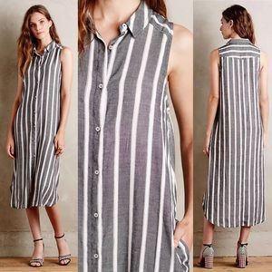 Anthro Holding Horses Knoxville Button Down Dress